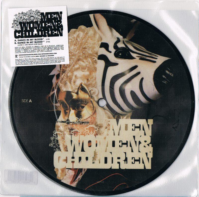 Men, Women & Children Dance In My Blood Vinyl