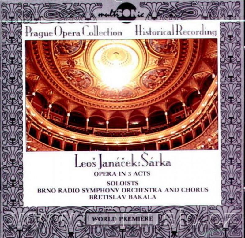 Janacek - Bretislav Bakala Sarka CD