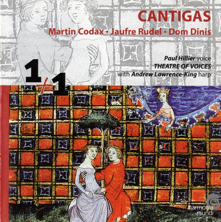 Codax, Rudel, Dinis- Paul Hillier, Andrew Lawrence-King Cantigas Vinyl