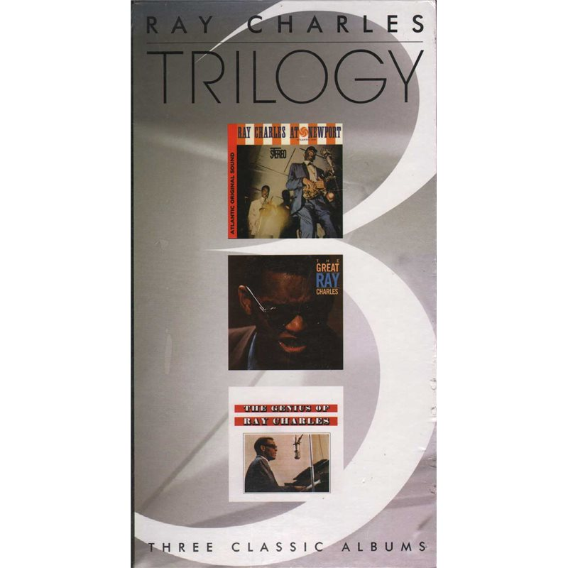 charles, Ray Trilogy - Three Classic Albums