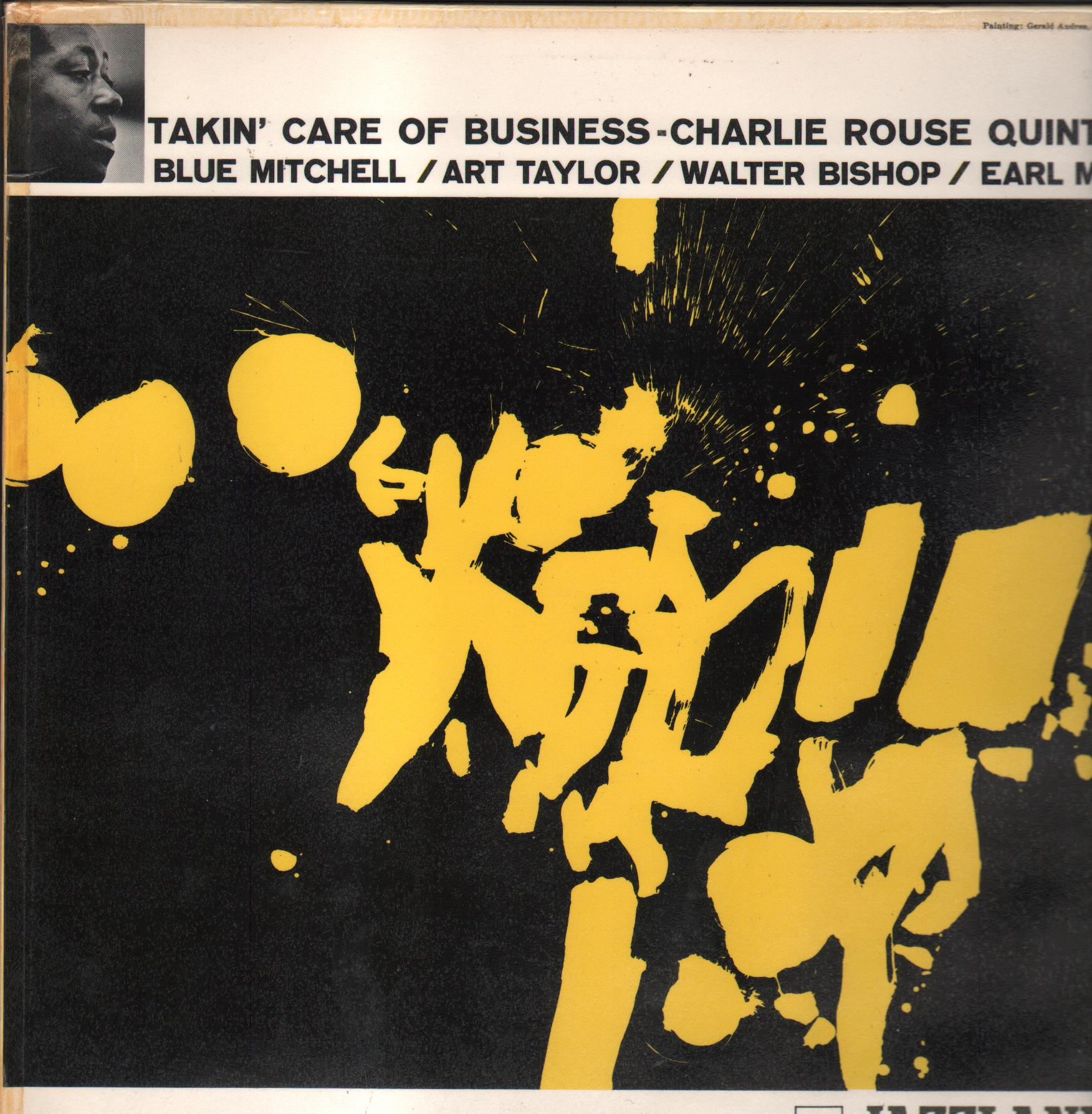 The Charlie Rouse Quintet  Takin' Care Of Business