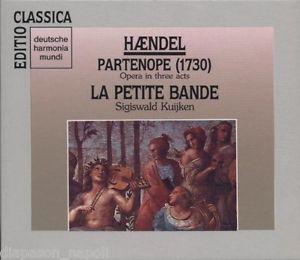 Handel - Sigiswald Kuijken Partenope / La Petite Bande