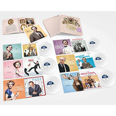 Fawlty Towers Fawlty Towers : For The Record (12 Full-Cast TV Soundtracks Narrated By Andrew Sachs) Vinyl