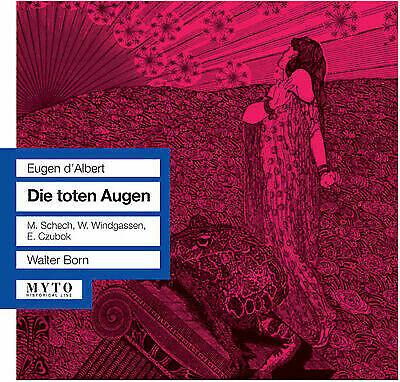 D'Albert - Schech, Windgassen, Czubok, Walter Born Die toten Augen Vinyl