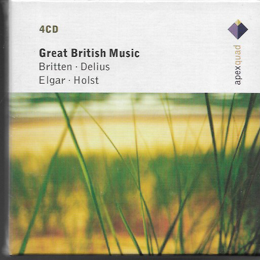 Various - Britten/Delius, Elgar, Holst Great British Music Vinyl