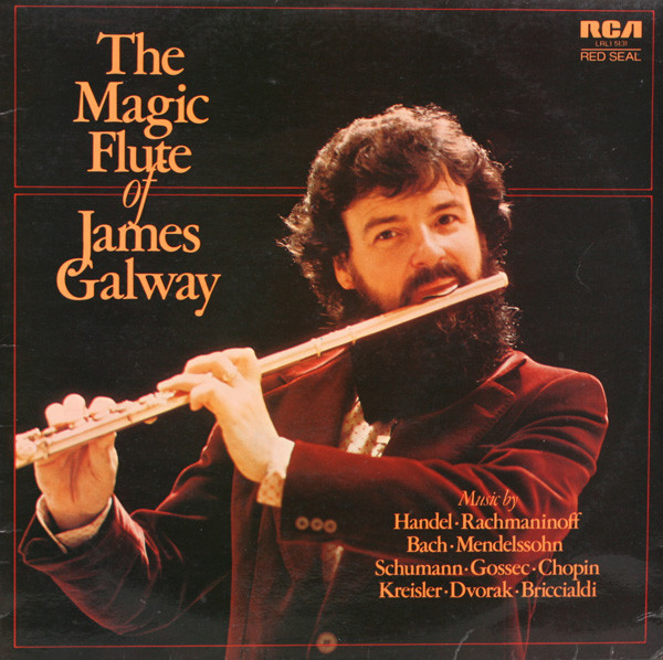 James Galway The Magic Flute Of Vinyl