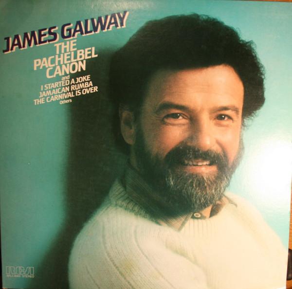 James Galway The Panchelbel Canon Vinyl