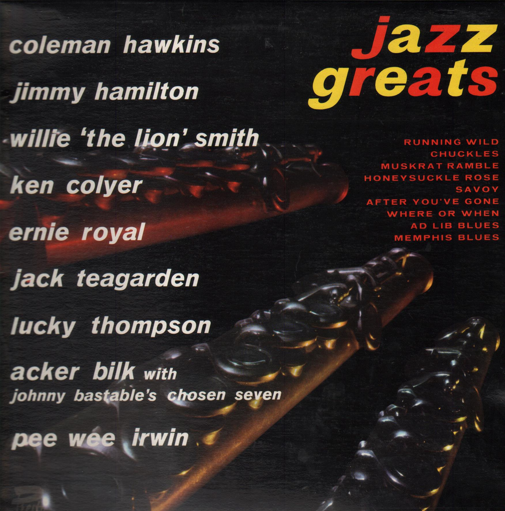 Various Artists Jazz Greats