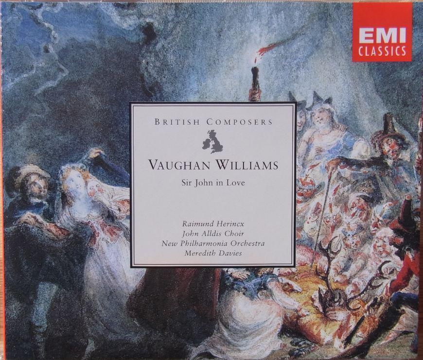 Williams - New Philharmonia Orchestra, Meredith Davies, Raimund Herincx, John Alldis Choir Sir John In Love