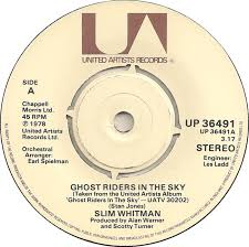 Whitman, Slim Ghost Riders In The Sky Vinyl
