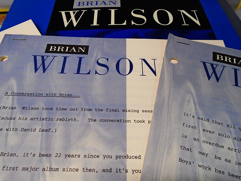 Brian Wilson Stuff 5